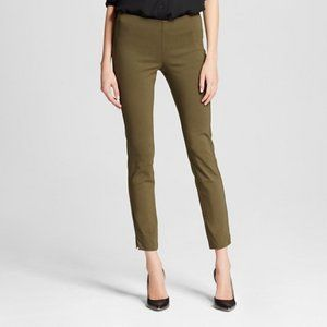 Who What Wear Mid Rise Skinny Tight Olive Green